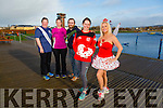 Launch the  Valentines Run on Sunday 14th February starting at the Tralee Wetlands were Front Bridget Moore Marilyn O'Shea Back Kirstie McTrusty, Sandra Byrne, Brian O'Shea