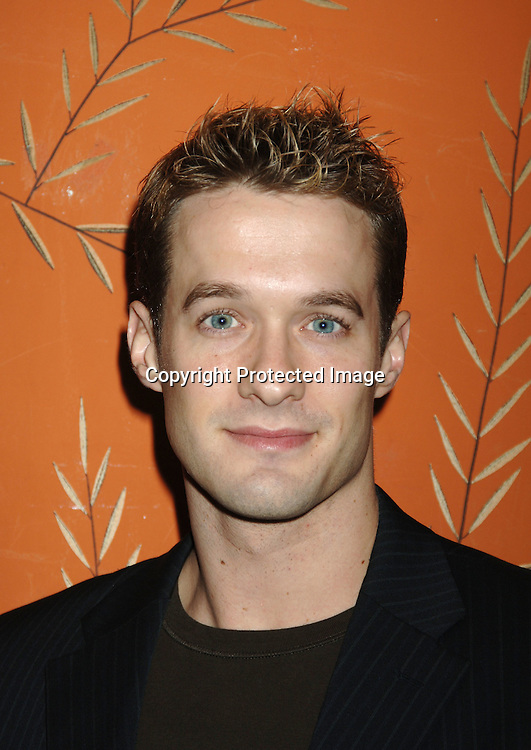 Matthew Metzger ..at the One Life To Live Christmas Party at LQ on     December 12, 2005. ..Photo by Robin Platzer, Twin Images