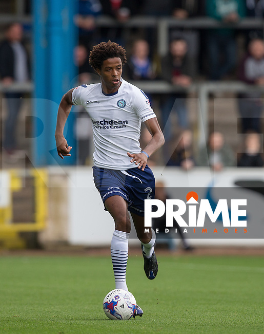 Sido Jombati of Wycombe Wanderers during the Sky Bet League 2 match between Carlisle United and Wycombe Wanderers at Brunton Park, Carlisle, England on 24 September 2016. Photo by Andy Rowland.