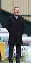 Stevenage manager Gary Smith. - Yeovil Town v Stevenage - npower League 1 - Huish Park, Yeovil - 14th April, 2012 . © Kevin Coleman 2012..