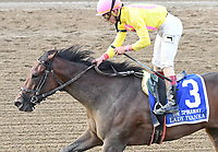 Lady Ivanka (no. 3), ridden by  and trained by Rudy Rodriguez, wins the 126th running of the grade 1 Spinaway Stakes for two year old fillies on September 02, 2017 at Saratoga Race Course in Saratoga Springs, New York. (Bob Mayberger/Eclipse Sportswire)