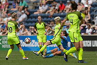 Bridgeview, IL - Sunday June 04, 2017: Megan Rapinoe during a regular season National Women's Soccer League (NWSL) match between the Chicago Red Stars and the Seattle Reign FC at Toyota Park. The Red Stars won 1-0.