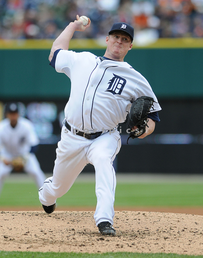 JEREMY BONDERMAN, of the Detroit TIgers, in action against the Seattle Mariners  during the TIgers game in Detroit, MI on May 22, 2008. The Tigers  won the game 9-2.