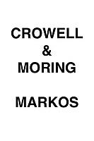 Crowell & Moring Markos