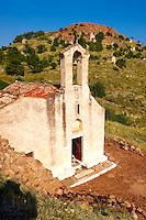 The Greek Orthodox church of Saint Charapampos, Paliachora, Aegina, Greek Saronic Islands