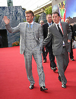 David Beckham arrives on the red carpet  prior to the FIFA Final Draw for the FIFA World Cup 2010 South Africa held at the Cape Town International Convention Centre (CTICC) on December 4, 2009.