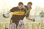 David Casey Dr. Crokes v Derek Kavanagh Nemo Rangers in their AIB Senior Club Football Championship Munster Final at Mallow GAA Grounds on Sunday 30th January 2011.