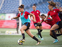 Seattle, WA - July 26, 2017: The USWNT trains prior to the first match of the Tournament of Nations at CenturyLink Field.Seattle, WA - July 26, 2017: The USWNT trains prior to the first match of the Tournament of Nations at CenturyLink Field.