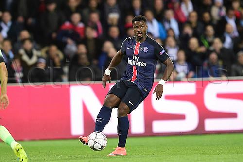 06.04.2016. Paris, France. UEFA CHampions League, quarter-final. Paris St Germain  versus Manchester City.  Serge Aurier (PSG)