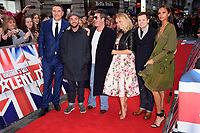 David Walliams, Anthony McPartlin, Simon Cowell, Amanda Holden, Declan Donelley &amp; Alesha Dixon at the London auditions for Britain's Got Talent 2018 at the London Palladium, London, UK. <br /> 28 January  2018<br /> Picture: Steve Vas/Featureflash/SilverHub 0208 004 5359 sales@silverhubmedia.com