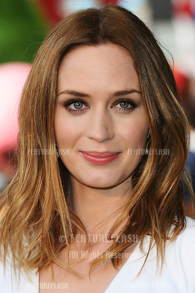 Emily Blunt arriving for the UK premiere of 'Gnomeo & Juliet' at the Odeon Leicester Square, London. 30/01/2011  Picture by: Steve Vas / Featureflash