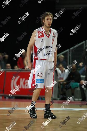 2009-01-25 / Basketbal / Antwerp Giants - Leuven / Brian Lynch..Foto: Maarten Straetemans (SMB)