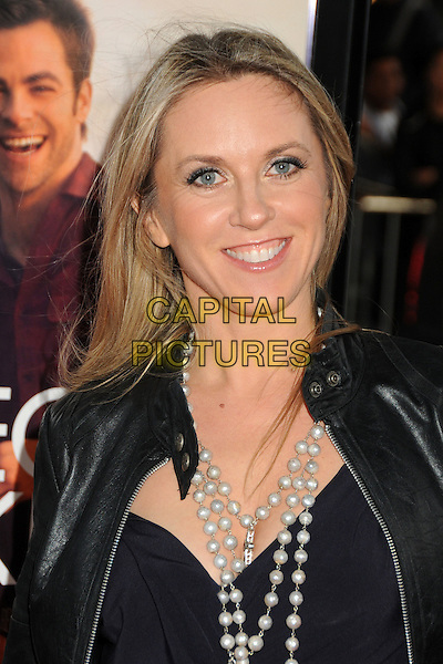 Liz Phair.'People Like Us' 2012 Los Angeles Film Festival premiere at Regal Cinemas LA Live, Los Angeles, California, USA.June 15th, 2012.headshot portrait black top jacket leather pearl necklace white .CAP/ADM/BP.©Byron Purvis/AdMedia/Capital Pictures.