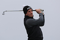 Richard Knightly (Royal Dublin) on the 4th tee during Round 3 of The West of Ireland Open Championship in Co. Sligo Golf Club, Rosses Point, Sligo on Saturday 6th April 2019.<br /> Picture:  Thos Caffrey / www.golffile.ie