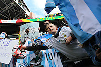 Seattle, WA - Tuesday June 14, 2016: Fans during a Copa America Centenario Group D match between Argentina (ARG) and Bolivia (BOL) at CenturyLink Field.