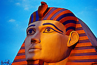 Sphinx, Luxor hotel and casino, Las Vegas Boulevard (The Strip), Las Vegas, Nevada USA
