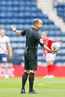 11th July 2020; Deepdale Stadium, Preston, Lancashire, England; English Championship Football, Preston North End versus Nottingham Forest; Referee Jeremy Simpson