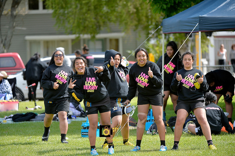 Action from the Condor Rugby 7&rsquo;s Tournament at Naenae College, Lower Hutt, New Zealand on Monday 28 October 2013.<br /> Photo by Masanori Udagawa.<br /> www.photowellington.photoshelter.com