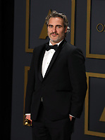09 February 2020 - Hollywood, California -     Joaquin Phoenix attends the 92nd Annual Academy Awards presented by the Academy of Motion Picture Arts and Sciences held at Hollywood & Highland Center. Photo Credit: Theresa Shirriff/AdMedia