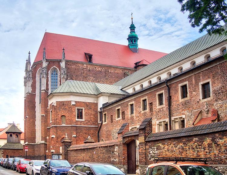 Kraków, 2018.06.10. Kościół św. Katarzyny na ul. Augustiańskiej w Krakowie.