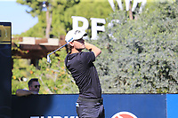 Thomas Pieters (BEL) tees off the 11th tee during Friday's Round 2 of the 2018 Turkish Airlines Open hosted by Regnum Carya Golf &amp; Spa Resort, Antalya, Turkey. 2nd November 2018.<br /> Picture: Eoin Clarke | Golffile<br /> <br /> <br /> All photos usage must carry mandatory copyright credit (&copy; Golffile | Eoin Clarke)