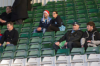 Wycombe fans ahead of the Sky Bet League 2 match between Plymouth Argyle and Wycombe Wanderers at Home Park, Plymouth, England on 26 December 2016. Photo by Mark  Hawkins / PRiME Media Images.