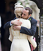 20.05.2017; Englefield, UK: JAMES MIDDLETON AND GIRLFRIEND DONNA AIR<br /> attend the wedding of Pippa Middleton to James Mathews at St Mark&rsquo;s Church, Englefield.<br /> Princess Charlotte and Prince George were flower girl and page boy respectively for their aunt.<br /> Mandatory Photo Credit: &copy;Steph Dias/NEWSPIX INTERNATIONAL<br /> <br /> IMMEDIATE CONFIRMATION OF USAGE REQUIRED:<br /> Newspix International, 31 Chinnery Hill, Bishop's Stortford, ENGLAND CM23 3PS<br /> Tel:+441279 324672  ; Fax: +441279656877<br /> Mobile:  07775681153<br /> e-mail: info@newspixinternational.co.uk<br /> Usage Implies Acceptance of OUr Terms &amp; Conditions<br /> Please refer to usage terms. All Fees Payable To Newspix International