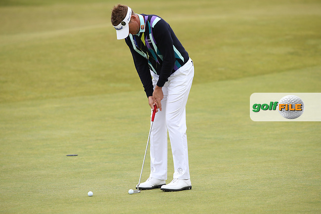 Ian Poulter (ENG) ahead of the 144th Open, played at the Old Course, St Andrews, Scotland. /14/07/2015/. Picture: Golffile | David Lloyd<br /> <br /> All photos usage must carry mandatory copyright credit (&copy; Golffile | David Lloyd)