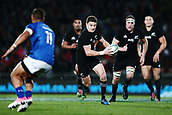 16th June 2017, Eden Park, Auckland, New Zealand; International Rugby Pasifika Challenge; New Zealand versus Samoa;  Beauden Barrett of New Zealand makes a run