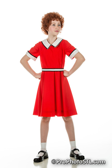 """Publicity images for """"Annie"""" presented by Variety - Children's Charity of St. Louis"""