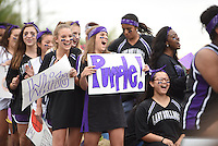 NWA Democrat-Gazette/J.T. WAMPLER Image from the 2015 Fayetteville High School homecoming parade and pep rally.