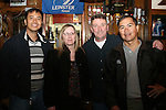 Ian Clark Parcon, Catherine Campbell, Paddy McQuillan and Dr. Fred Medina in McPhails...Photo NEWSFILE/Jenny Matthews.(Photo credit should read Jenny Matthews/NEWSFILE)....This Picture has been sent you under the condtions enclosed by:.Newsfile Ltd..The Studio,.Millmount Abbey,.Drogheda,.Co Meath..Ireland..Tel: +353(0)41-9871240.Fax: +353(0)41-9871260.GSM: +353(0)86-2500958.email: pictures@newsfile.ie.www.newsfile.ie.FTP: 193.120.102.198.