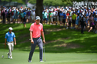 Jordan Spieth (USA) approaches the green on 5 during round 2 of the 2019 Charles Schwab Challenge, Colonial Country Club, Ft. Worth, Texas,  USA. 5/24/2019.<br /> Picture: Golffile   Ken Murray<br /> <br /> All photo usage must carry mandatory copyright credit (© Golffile   Ken Murray)