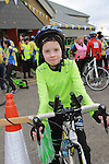 Caoimh O'Reilly at the Operation Transformation 10km cycle from Ardee Parish Centre.