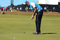 Matt Kuchar (USA) in action during Round One of the 145th Open Championship, played at Royal Troon Golf Club, Troon, Scotland. 14/07/2016. Picture: David Lloyd | Golffile.<br /> <br /> All photos usage must carry mandatory copyright credit (&copy; Golffile | David Lloyd)