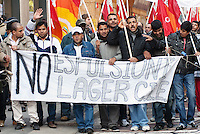 Corteo contro la sanatoria truffa indetto dal Comitato Immigrati in Italia e dalla CUB. Milano, 29 ottobre 2010...<br /> <br /> Demonstration against the scam workers legalisation organized by Immigrants Committee in Italy and CUB trade uonion. Milan, October 29, 2010