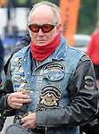 A Biker admiring the machines at Ireland Bikefest at the weekend.<br /> Picture by Don MacMonagle