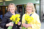 Mary Doherty and Lizanne Allen on Daffoldil Day...Photo NEWSFILE/Jenny Matthews.(Photo credit should read Jenny Matthews/NEWSFILE)....This Picture has been sent you under the condtions enclosed by:.Newsfile Ltd..The Studio,.Millmount Abbey,.Drogheda,.Co Meath..Ireland..Tel: +353(0)41-9871240.Fax: +353(0)41-9871260.GSM: +353(0)86-2500958.email: pictures@newsfile.ie.www.newsfile.ie.FTP: 193.120.102.198.