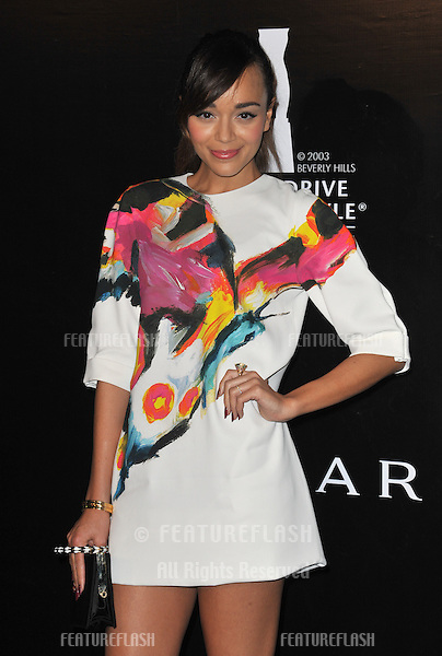 Ashley Madekwe at the 2012 Rodeo Drive Walk of Style Gala honoring Italian jeweler Bulgari..December 5, 2012  Los Angeles, CA.Picture: Paul Smith / Featureflash