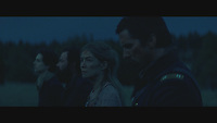 Hostiles (2017) <br /> Christian Bale, Rosamund Pike, and Ryan Bingham <br /> *Filmstill - Editorial Use Only*<br /> CAP/KFS<br /> Image supplied by Capital Pictures