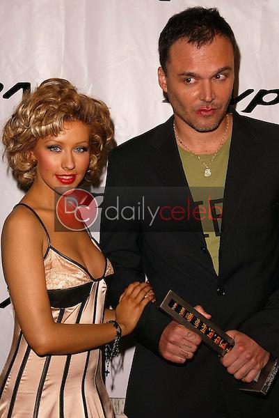 Christina Aguilera and David LaChapelle