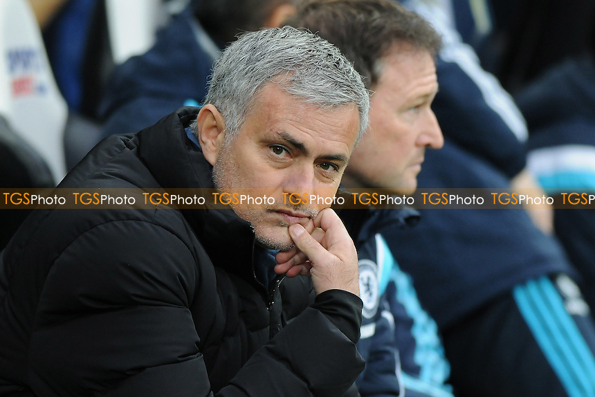 Chelsea manager José Mourinho - Newcastle United vs Chelsea - Barclays Premier League Football at St James Park, Newcastle upon Tyne - 06/12/14 - MANDATORY CREDIT: Steven White/TGSPHOTO - Self billing applies where appropriate - contact@tgsphoto.co.uk - NO UNPAID USE