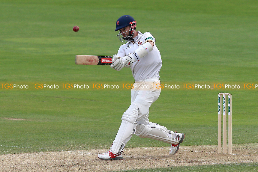 James Foster hits 4 runs for Essex during Essex CCC vs Lancashire CCC, Specsavers County Championship Division 1 Cricket at The Cloudfm County Ground on 21st April 2018