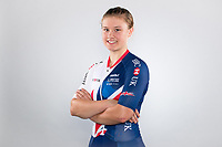 Picture by Alex Whitehead/SWpix.com - 12/10/2017 - British Cycling - Great Britain Cycling Team Senior Academy Portraits - HSBC UK National Cycling Centre, Manchester, England - Jenny Holl.