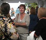 Denise Flan seen attending the Newsday Family Reunion at the Pavillion at Sunken Meadow State Park in Kings Park, NY,  on Thursday August 12, 2010. Photo © Jim Peppler 2010.