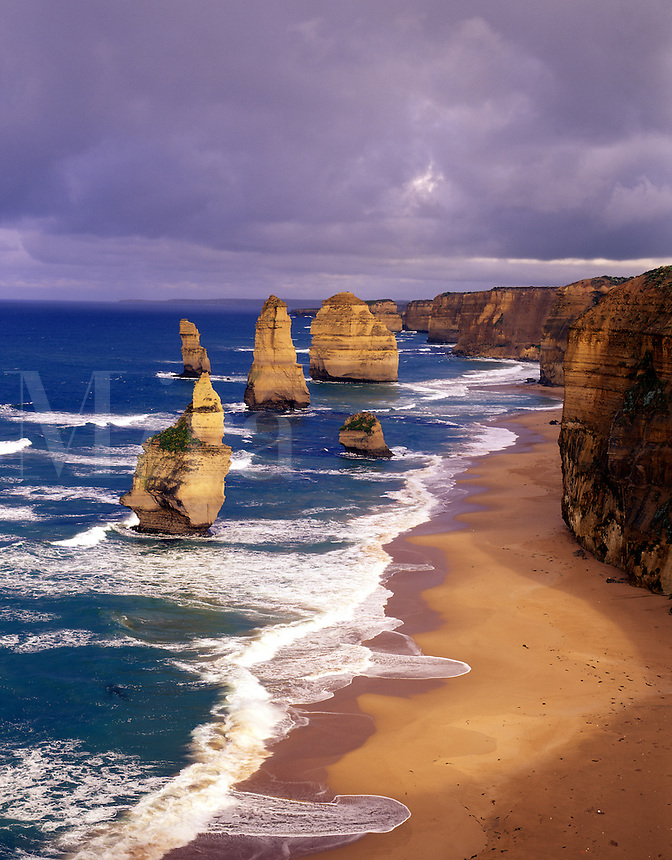 Morning at 12 Apostles,  Port Campbell National Park , Great Ocean Rd., Victoria, Australia.