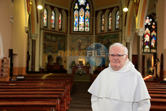 Fr Jim Dunleavy at the Dominican Church<br /> Picture www.newsfile.ie