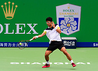 HYEON CHUNG (KOR)<br /> <br /> TENNIS - SHANGHAI ROLEX MASTERS - QI ZHONG TENNIS CENTER - MINHANG DISTRICT - SHANGHAI - CHINA - ATP 1000 - 2017 <br /> <br /> <br /> <br /> &copy; TENNIS PHOTO NETWORK