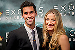 Football player Alvaro Arbeloa at the premiere of the movie Exodus in Madrid. 2014/12/04. Samuel de Roman / Photocall3000.