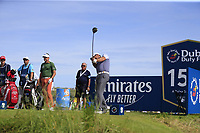 Padraig Harrington (IRL) tees off the 15th tee during Thursday's Round 1 of the Dubai Duty Free Irish Open 2019, held at Lahinch Golf Club, Lahinch, Ireland. 4th July 2019.<br /> Picture: Eoin Clarke | Golffile<br /> <br /> <br /> All photos usage must carry mandatory copyright credit (© Golffile | Eoin Clarke)